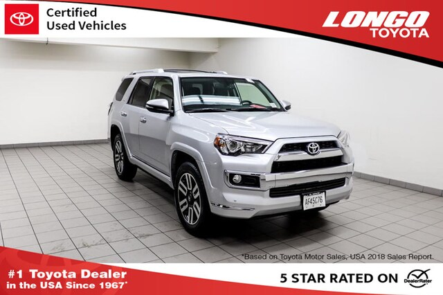 Certified Pre-Owned 2019 Toyota 4Runner Limited 4WD SUV JTEBU5JR2K5689421 Serving Los Angeles