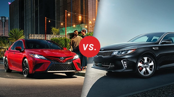 Comparison: 2018 Toyota Camry vs 2018 Kia Optima