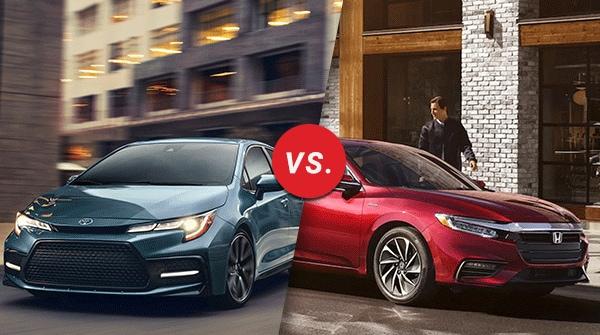 Comparación: 2020 Toyota Corolla Hybrid vs 2019 Honda Insight