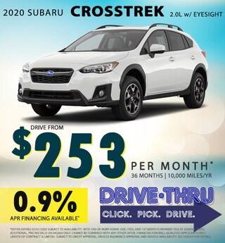 July 2020 Crosstrek Special