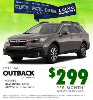 May 2021 Outback Special