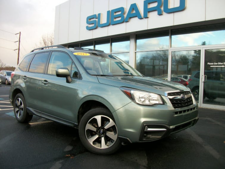Certified 2017 Subaru Forester 2.5i Premium SUV in Webster, MA