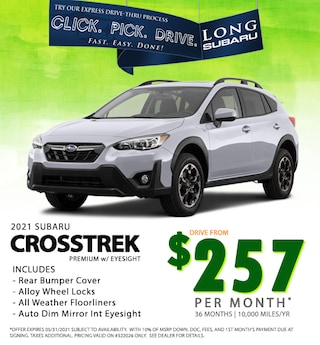 May 2021 Crosstrek Special