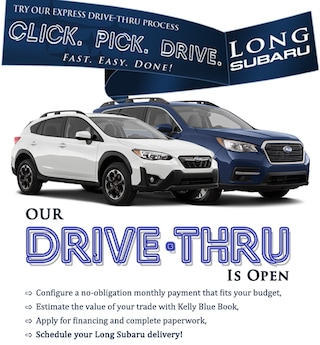 Accelerate Your Purchase with Drive-Thru