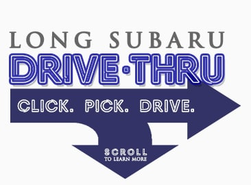 Long Subaru Drive-Thru Process logo.