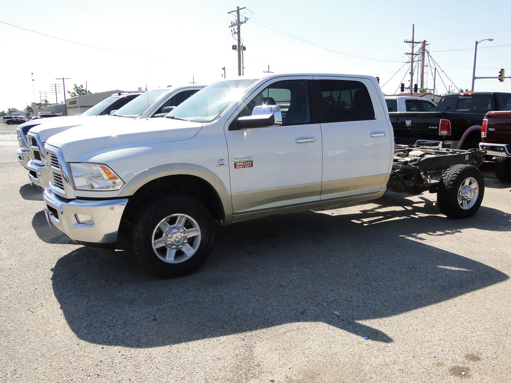 2011 Ram 3500 Laramie Truck Long Crew Cab