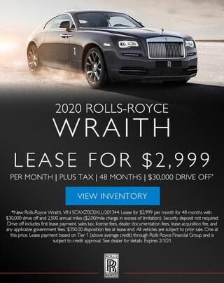 Rolls-Royce Wraith in Los Gatos, CA