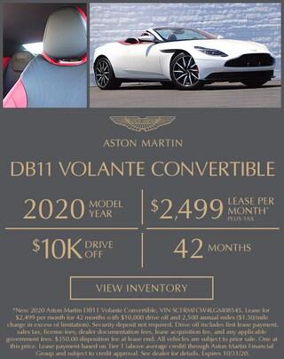 Aston Martin DB11 Lease in Los Gatos, CA