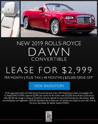 New 2019 Rolls-Royce Dawn