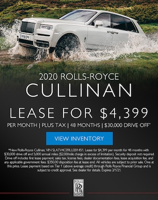 Rolls-Royce Cullinan Lease in Los Gatos, CA