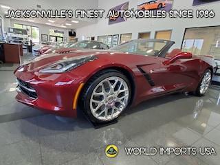 2016 Chevrolet Corvette 2DR Stingray Z51 Conv W/3LT - NEW $80,960.00 Convertible for Sale in Jacksonville FL