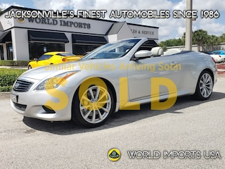 Used 2009 INFINITI G37 Sport Hardtop Convertible Convertible in Jacksonville FL