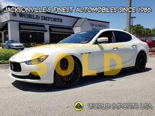 2016 Maserati Ghibli 4DR Sport S - Msrp $96,150.00 Sedan for Sale in Jacksonville FL