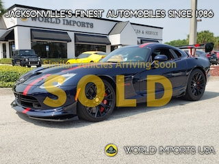 2016 Dodge Viper 2DR CPE ACR Coupe for Sale in Jacksonville FL