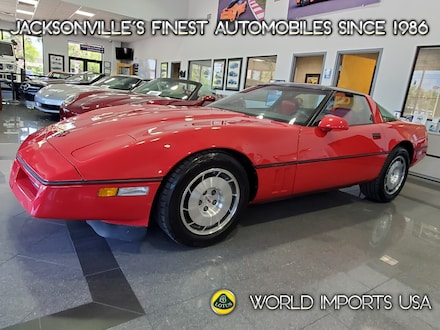 1986 Chevrolet Corvette 2DR Hatchback Coupe - (Collector Series) Coupe