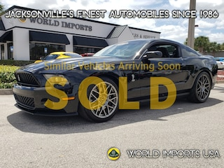 2012 Ford Mustang 2DR CPE Shelby GT500 W/SVT Package 2 Door Coupe for Sale in Jacksonville FL