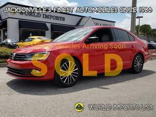 2016 Volkswagen Jetta Sport Sedan Sedan for Sale in Jacksonville FL