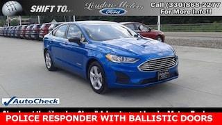 2019 Ford Police Responder Hybrid Sedan Base Sedan