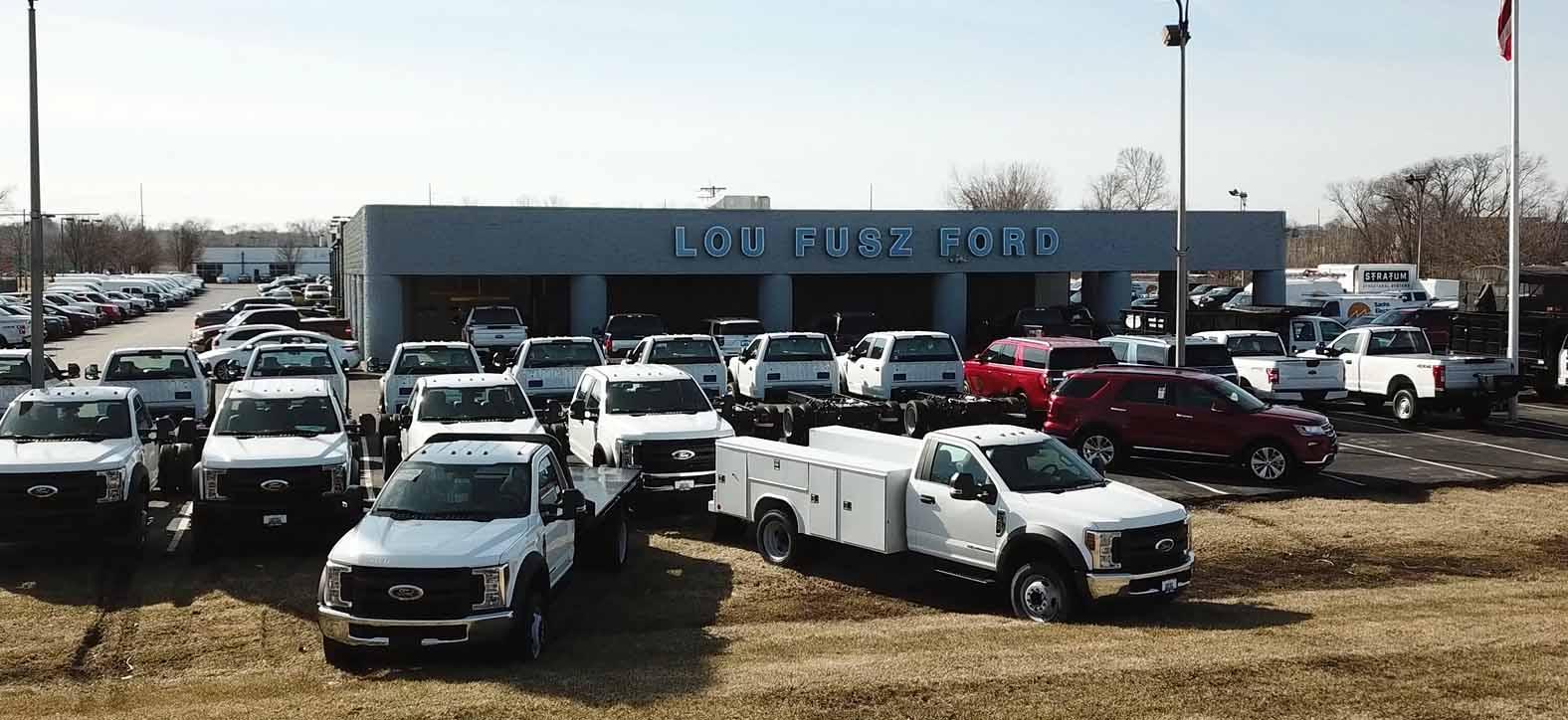 Lou Fusz Ford >> Ford Service Center Lou Fusz Ford