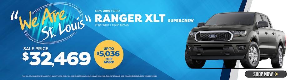 New 2019 Ranger XLT