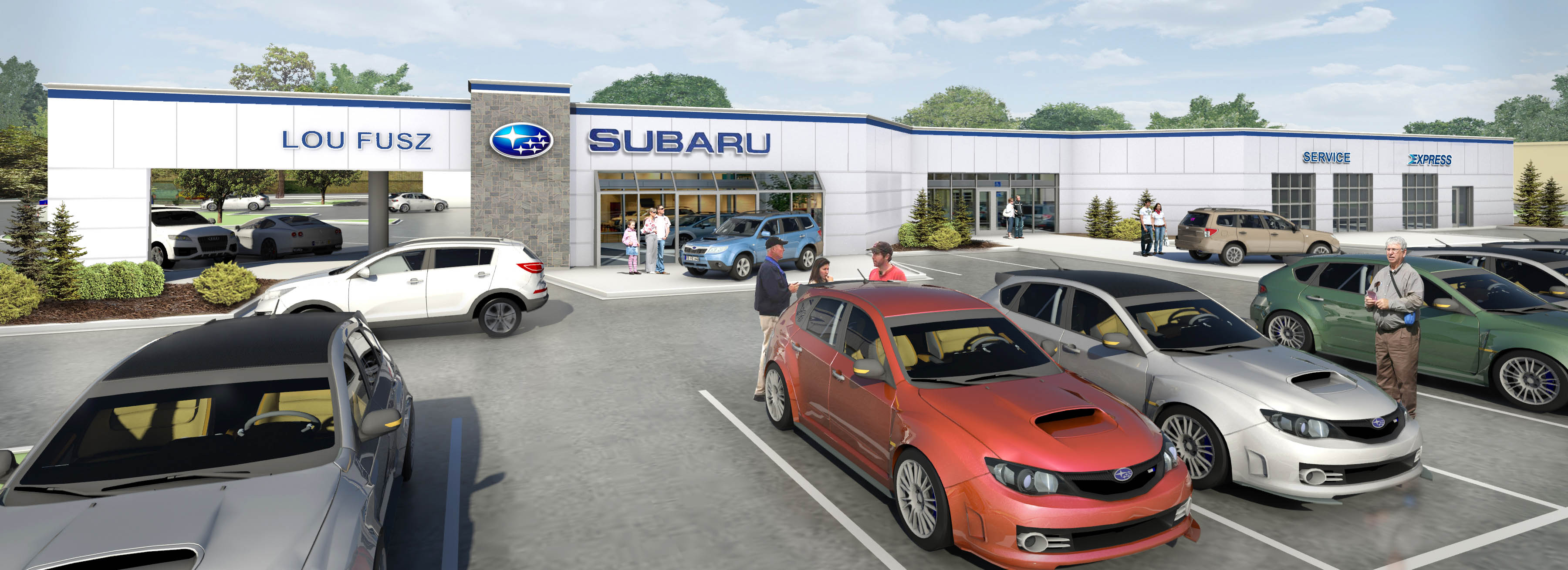 Lou Fusz Subaru >> The New Lou Fusz Subaru St Peters Store Lou Fusz Subaru St Peters