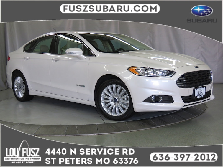 Used 2014 Ford Fusion SE Hybrid Sedan X191011A in St Perters MO