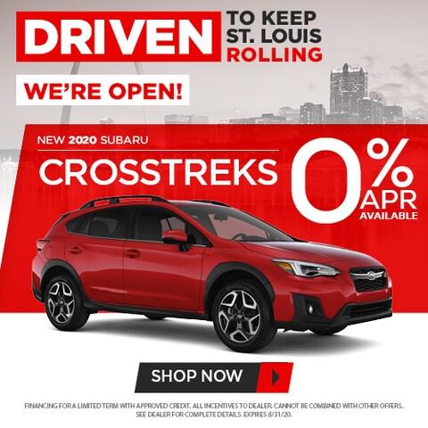 New 2020 Subaru Crosstreks