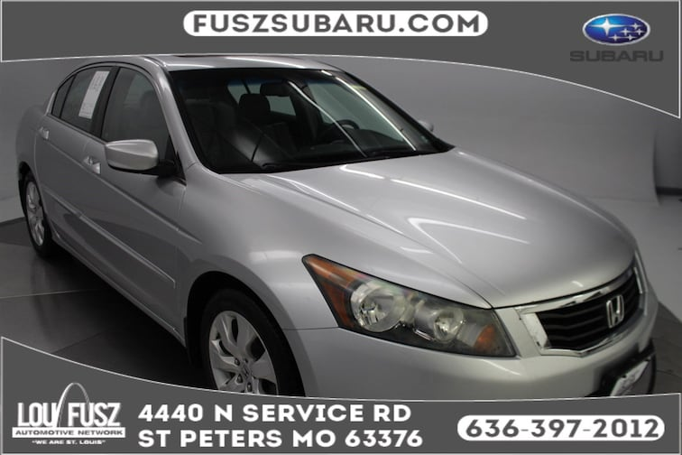 Used 2008 Honda Accord Sdn EX-L Sedan X19266A in St Perters MO