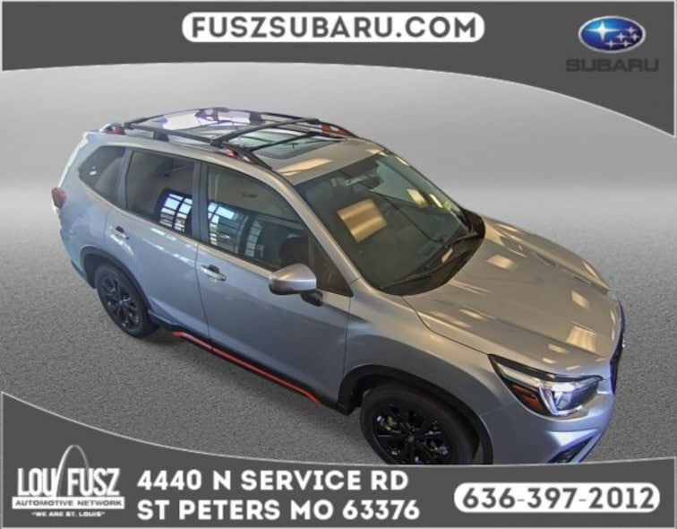 New 2019 Subaru Forester Sport SUV X19736 in St Peters,MO