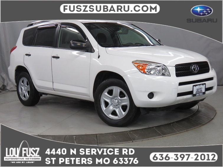 Used 2007 Toyota RAV4 SUV X19541A in St Perters MO