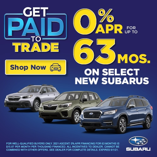 0% APR for up to 63 months!