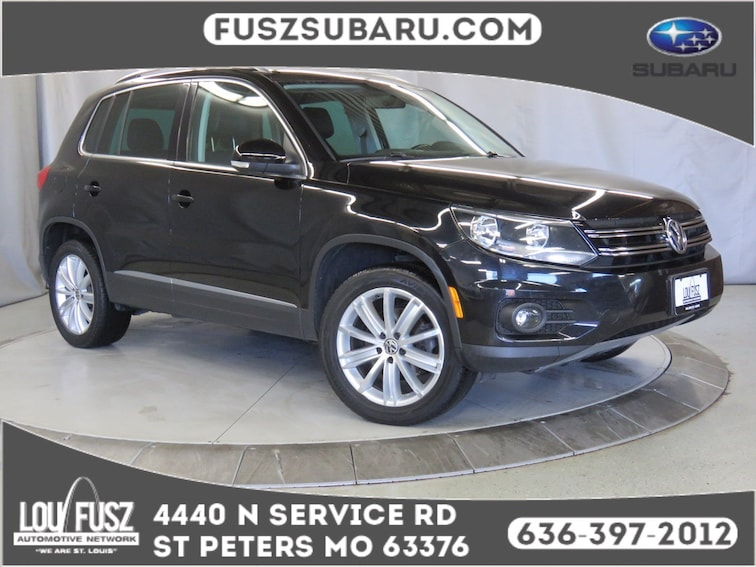Used 2013 Volkswagen Tiguan SUV X19920A in St Perters MO