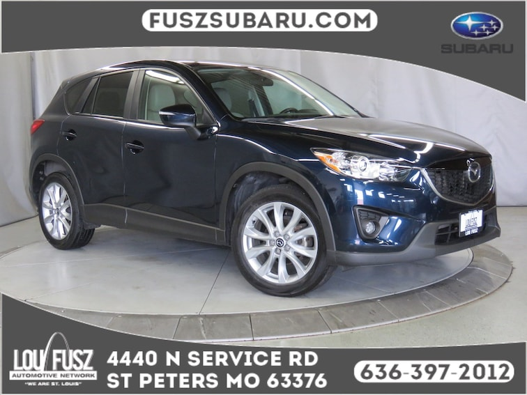 Used 2015 Mazda CX-5 Grand Touring SUV X19810A in St Perters MO