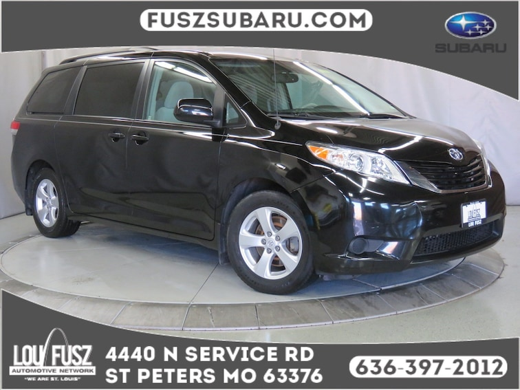 Used 2013 Toyota Sienna LE Van X19952A in St Perters MO