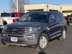 Featured New 2021 Ford Explorer XLT 4x4 ** Retired Courtesy Car ** SUV for Sale in Louisburg, KS