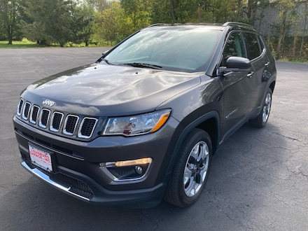 2018 Jeep Compass Limited 4x4 4dr SUV SUV