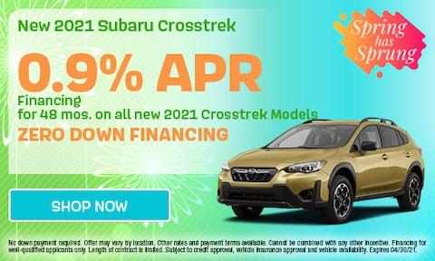 April 2021 Crosstrek Special
