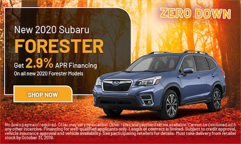 October 2020 Forester Special