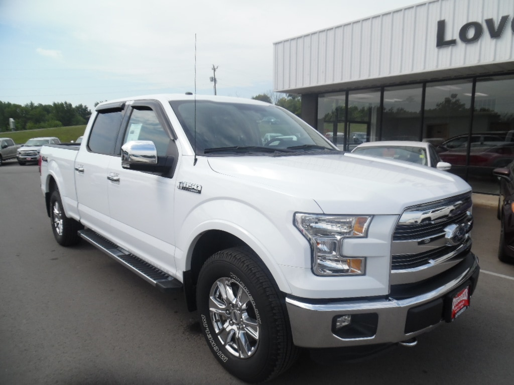 2016 Ford F-150 SuperCrew LARIAT Crew Cab
