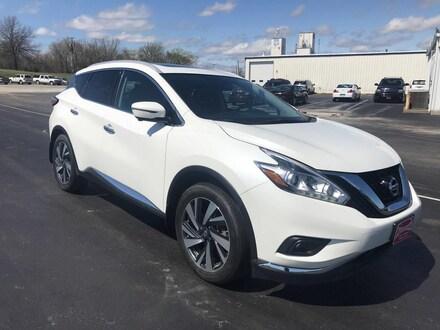 2017 Nissan Murano Platinum 2017.5