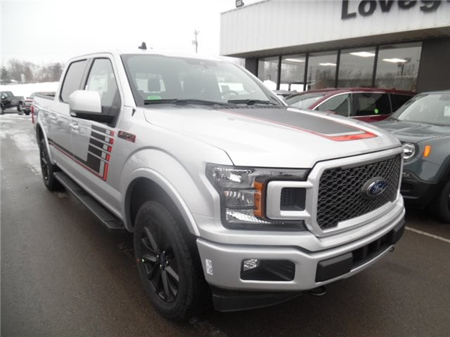 2019 Ford F-150 Lariat Crew Cab Pickup - Short Bed
