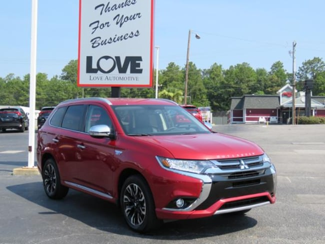New 2018 Mitsubishi Outlander PHEV SEL S-AWC CUV For Sale/Lease Cayce, SC