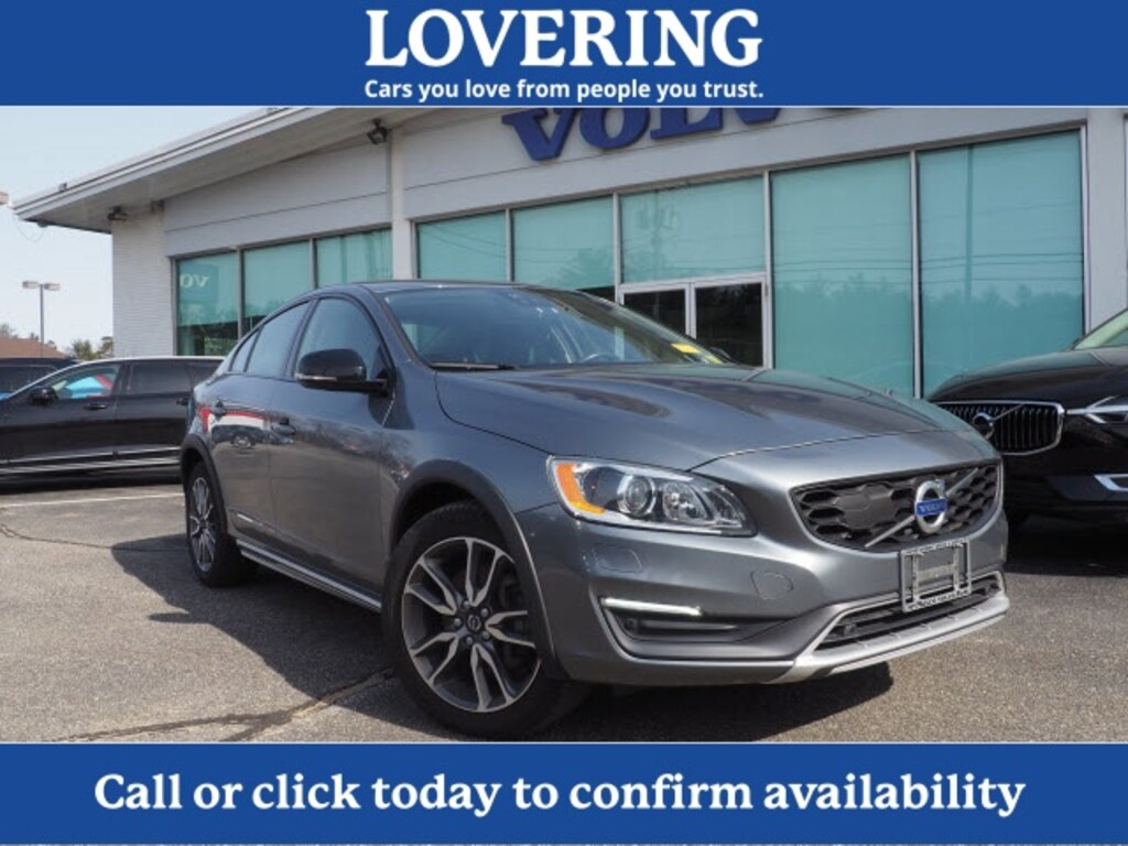 Volvo Dealers Nh >> Used 2016 Volvo S60 Cross Country T5 Platinum For Sale In Concord
