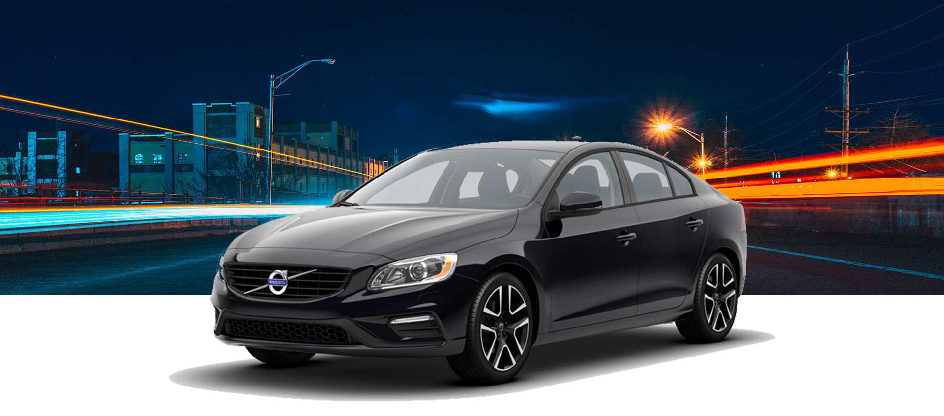 2018 Volvo S60 with background MLP