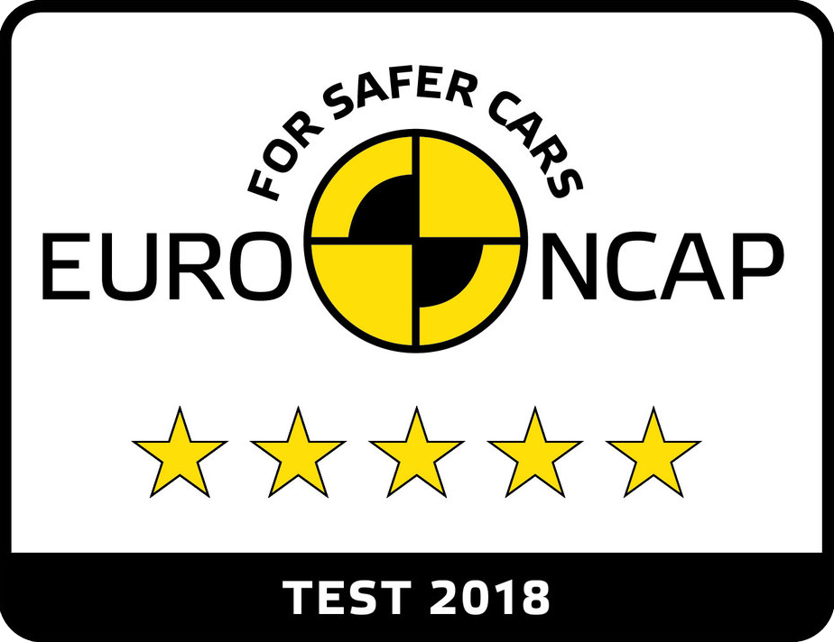 Euro NCAP 5-Star Rating - 2018