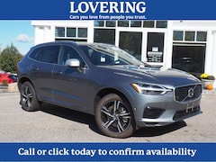 New 2019 Volvo XC60 Hybrid T8 R-Design SUV LYVBR0DM8KB202182 For sale Concord NH, near Hooksett