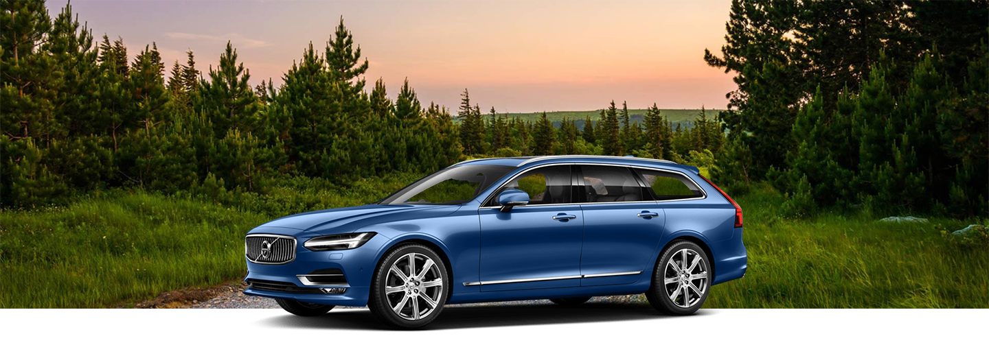 2018 Volvo V90 Cross Country MLP hero with background