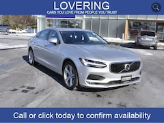 Used 2018 Volvo S90 T5 Momentum Sedan 7588 LVY102MK6JP052570 for sale Concord NH, near Hooksett