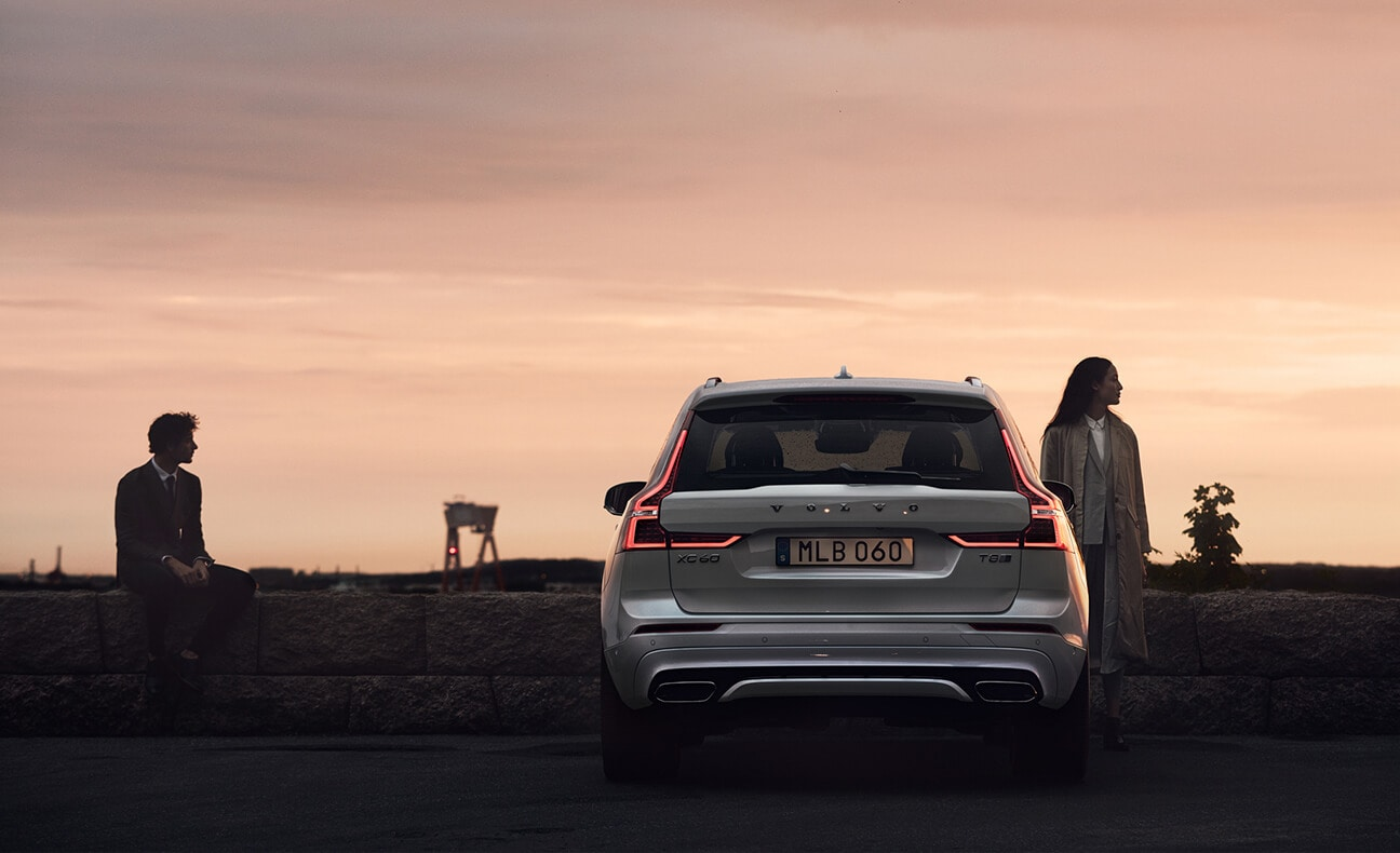 2018 Volvo XC60 at sunset