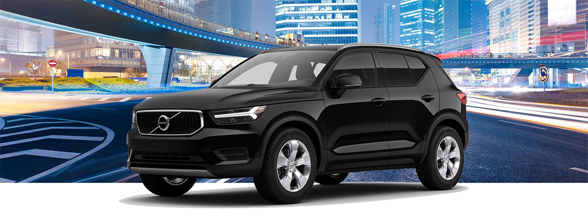 2018 Volvo XC40 MLP with background